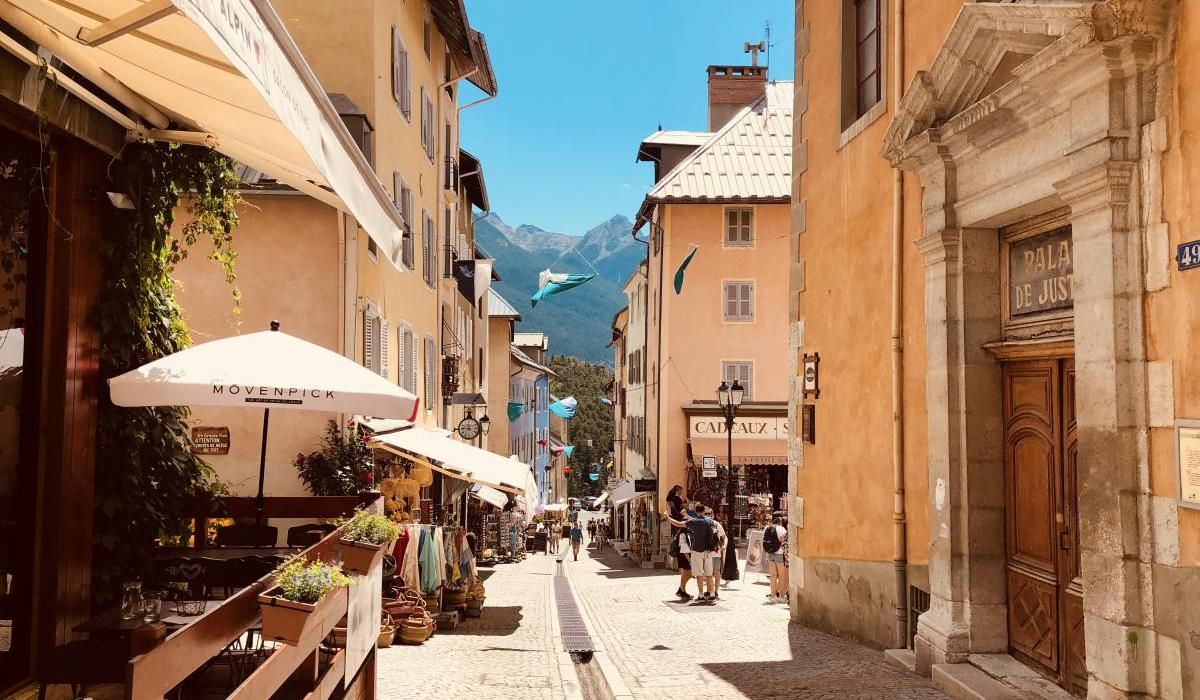 Streeft in Briancon